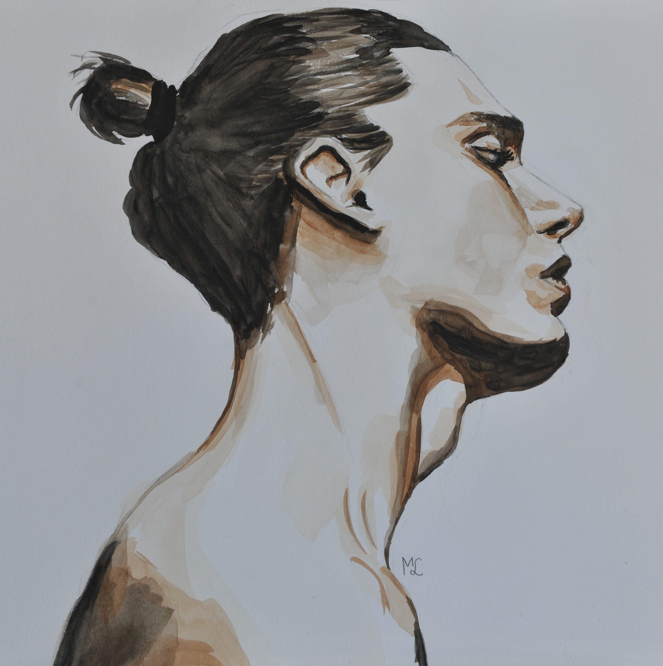 niet weer… studie in aquarel